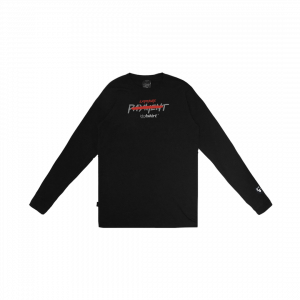 EXPOSURE L/S TSHIRT BLACK