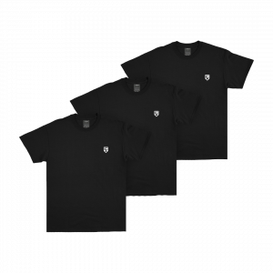KEEP IT ESSENTIAL T-SHIRT BLACK 3-PIECE SET