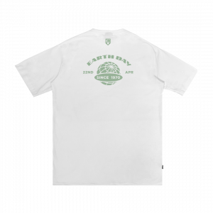IDOTSHIRT EARTH DAY T-SHIRT WHITE