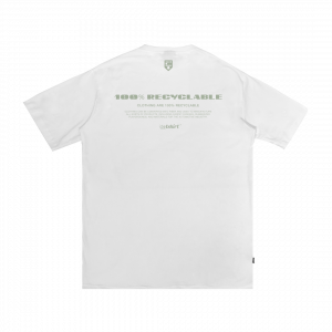 IDOTSHIRT 100% RECYCLABLE T-SHIRT WHITE