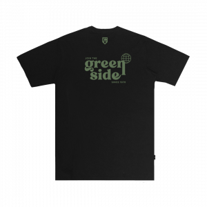 IDOTSHIRT JOIN THE GREEN SIDE T-SHIRT BLACK