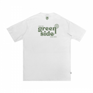 IDOTSHIRT JOIN THE GREEN SIDE T-SHIRT WHITE