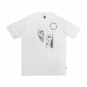 IDOTSHIRT x TIZ ZAQYAH: EARTH WITHOUT ART T-SHIRT WHITE