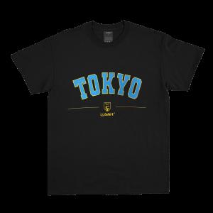 TOKYO Varsity T-Shirt Black