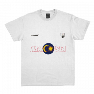 MALAYSIA Represent T-Shirt White