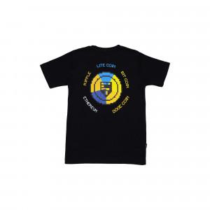 Idotshirt Multi T-Shirt Black