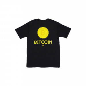 Idotshirt Bitcoin T-Shirt Black