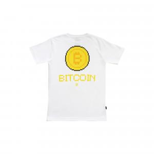 Idotshirt Bitcoin T-Shirt White