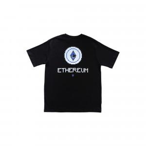 Idotshirt Ethereum T-Shirt Black