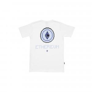 Idotshirt Ethereum T-Shirt White